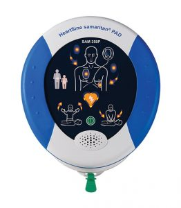 HeartSine® samaritan PAD 350P félautomata defibrillátor CPR támogatással