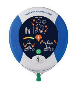 HeartSine® samaritan PAD 500P félautomata defibrillátor CPR tanácsadóval